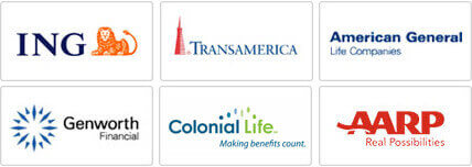 ING, Transamerica, American General, Prudential, Genworth, AARP. Allianz